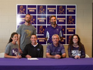 Congratulations to Dylan Brenneman as he signed his national letter of intent to run Cross Country and Track next Fall at Kansas State University